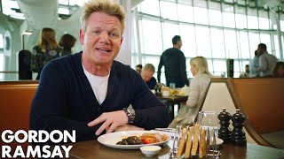Gordon Ramsay Goes Behind The Scenes At Plane Food