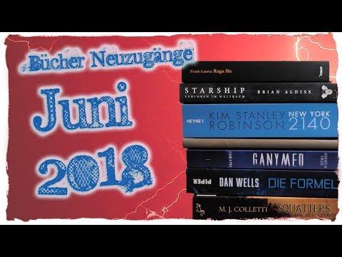 Nezugänge Juni - phantastische Bücher Juni 2018