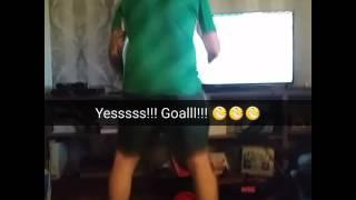 Ireland v italy goal reaction ..priceless