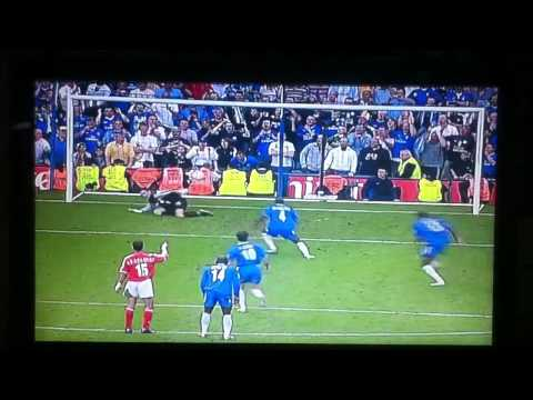 Makelele penalty Vs Charlton