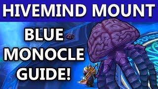 World Of Warcraft BFA Patch 8.1 HIVEMIND SECRET MOUNT | Blue Monocle Letters Locations | Part 3
