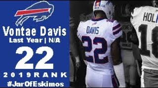 #22 Vontae Davis (CB Bills) | Top 100 Players of 2019 Parody