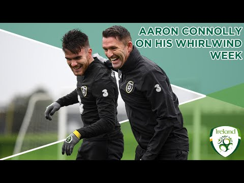 #IRLMNT INTERVIEW | Aaron Connolly catches up on a whirlwind week