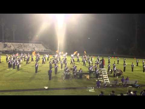 Celebration High School Marching Band 09.12.14