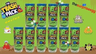 NEW The Trash Pack - Series 7 Junk Germs - 2 pack Test Tube mystery toys unboxing