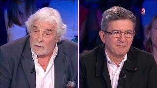 Jean-Luc Mélenchon invite Jacques Weber sur le plateau #ONPC 10 septembre 2016