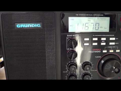 Shortwave All India Radio on Grundig S450DLX