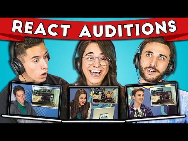 TEENS REACT TO THEIR AUDITION FOR TEENS REACT #2