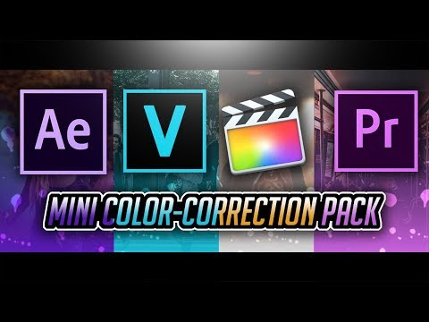 Mini Color-Correction Pack By Pro Edits! (DO NOT MISS THIS!)