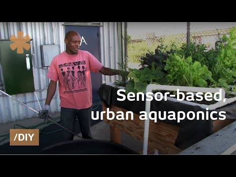 Internet of food: Arduino-based. urban aquaponics in Oakland