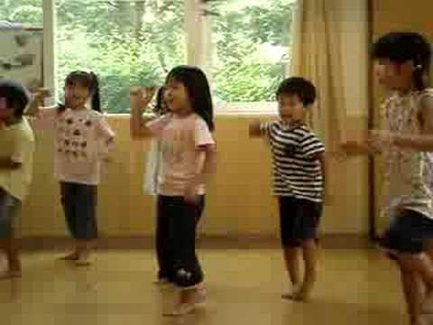 2008.7.6 H保育園 かもめ組 ヒップホップダンス