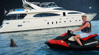Overnight Challenge on $13,000,000 Super Yacht!!