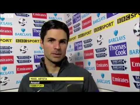 BBC Sport - Arsenal 4-1 Reading Mikel Arteta aiming for top-four finish
