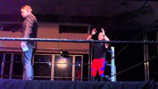 Marty Jannetty und Doink The Clown Entrance (Wrestling Legends Tour 2011)