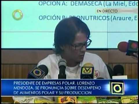 Las 4 propuestas que hará Lorenzo Mendoza al Gobierno