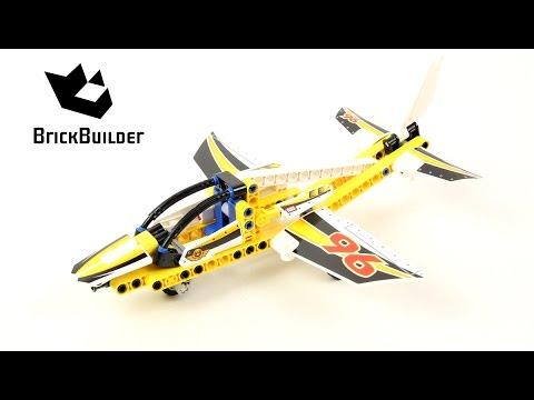 Lego Technic 42044 Display Team Jet - Lego Speed build