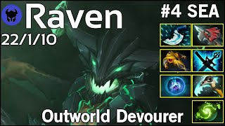 Raven [LOTAC] plays Outworld Devourer!!! Dota 2 7.20