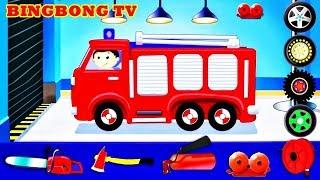 Fire Little Heroes - Fireman   Fire Truck Station - Fire Truck For Kids   Video, Game For Children
