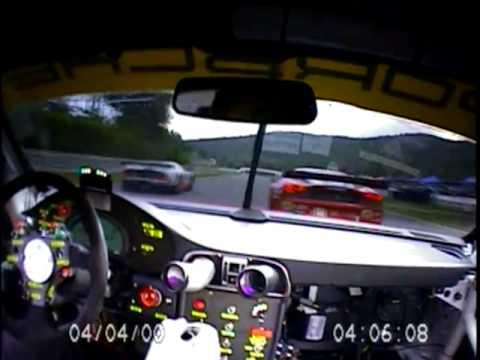 On-board: Porsche 911 GT3 RSR - LMS Race / Lime Rock 2010