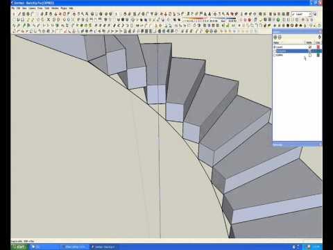 Jorge camilo modelado de una escalera caracol wmv youtube - Modelos de escaleras de caracol para interiores ...
