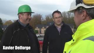 Delforge Frères Construction Générale : présentation de l'entreprise par Yvan Flamant