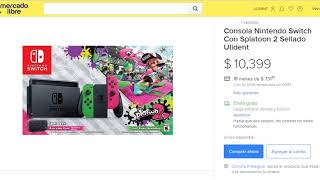 Consola Nintendo Switch Con Splatoon 2 Sellado Ulident