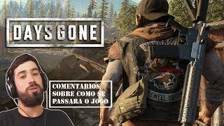 Jogando Days Gone no PS4 - Como sera a sobrevivência