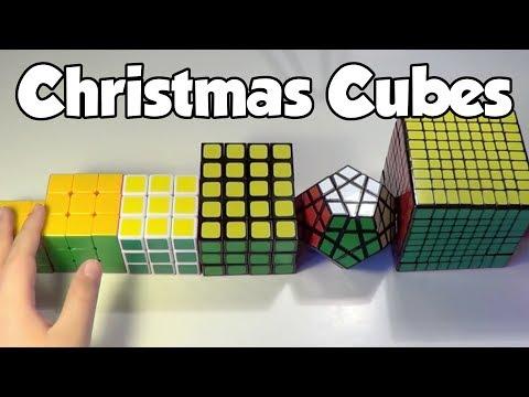 My Christmas Cubes 2012!