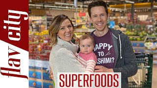 Top 10 SUPERFOODS To Feed Your Baby