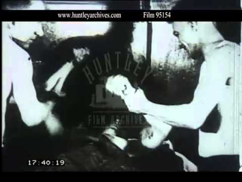 Velodrome Cycling and Boxing in Berlin, 1927 - Film 95154