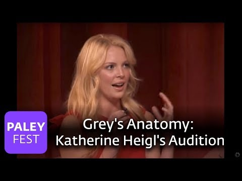 Katherine Heigl's Grey's Anatomy Audition Video