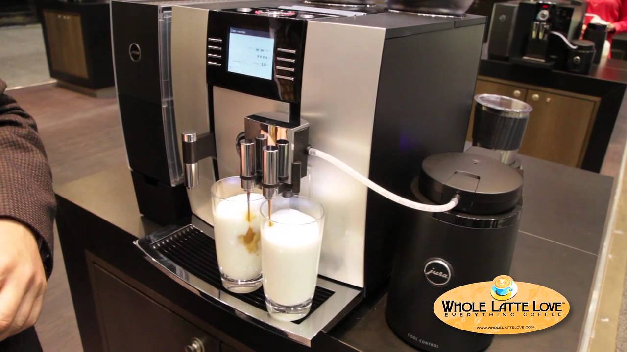 jura capresso giga 5 one touch cappuccino and latte macchiato system youtube. Black Bedroom Furniture Sets. Home Design Ideas