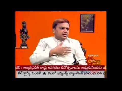 N N Murthy speaks on Effects of Mobile Phones at Gemini TV Interview (Part-5)