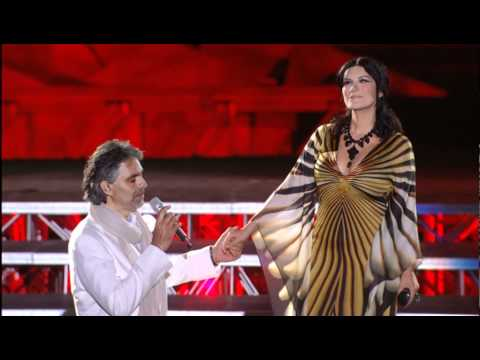 Andrea Bocelli e Laura Pausini  Dare To mp4