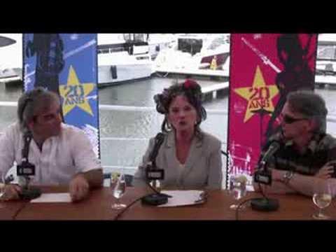 Conférence de presse de Diane Dufresne - Terre Planète Bleue