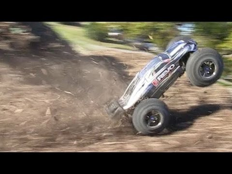 Bashing RC Cars!!