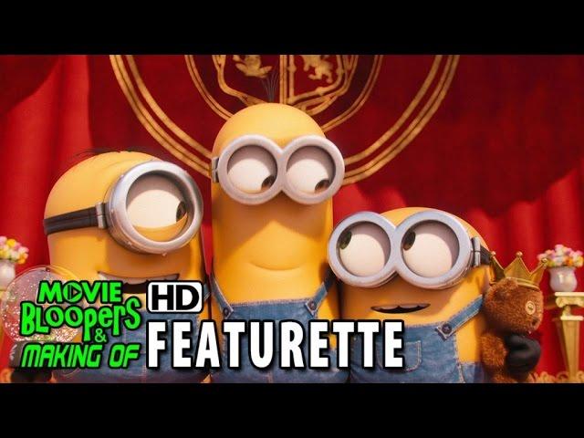 Minions (2015) Featurette - Three Minions