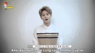 [YOSEOBVN][Vietsub][05.01.20156] Birthday message from Yoseob