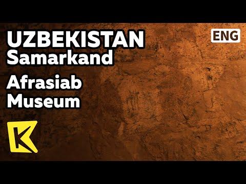 【K】Uzbekistan Travel-Samarkand[우즈베키스탄 여행-사마르칸트]아프로시아프 박물관/Afrasiab Museum/Goguryeo/Mural/Silk Road
