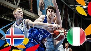 Iceland v Italy - Full Game - FIBA U20 European Championship 2018