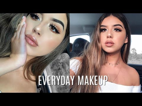 EVERYDAY MAKEUP ROUTINE 2018 | Glowy and Sunkissed