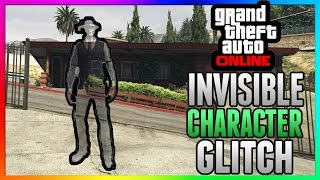GTA 5 Online: 100% INVISIBLE BODY GLITCH! - After Patch 1.32 & 1.29 - PS3/PS4/Xbox One/Xbox 360/PC
