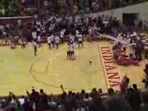 Patrick Ewing Jr 2003 Indiana Hoosiers amazing dunk Video
