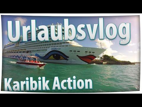 URLAUBSVLOG -- Karibik Action | AIDAmar | Karibik Kreuzfahrt | Best Of [German | FullHD]