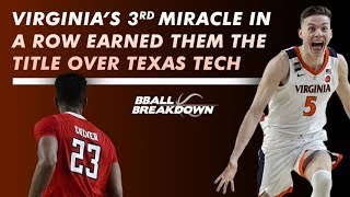 Virginia vs Texas Tech: The Most Thrilling National Championship Ever?