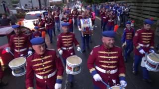Portadown True Blues FB @ Blackskull Orange & Blue FB Parade 27-5-2017