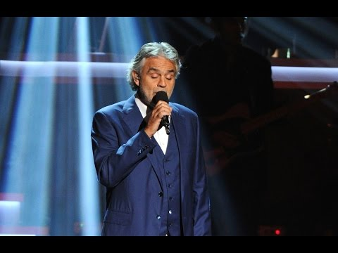 Andrea Bocelli - I Just Called to Say I Love You 2015