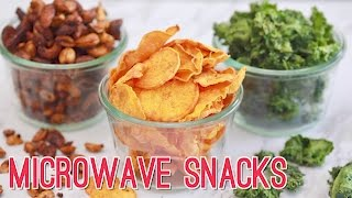 Microwave Snacks in Minutes: 3 BOLD Recipes! Gemma's Bigger Bolder Baking Ep 174