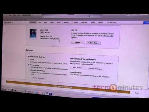 Sincroniza tu iPhone via WiFi sin cables