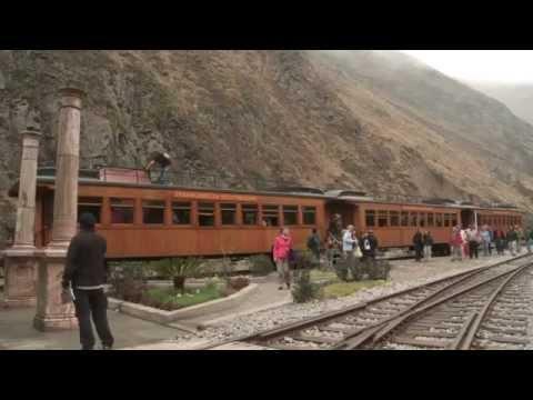 El Tren Ecuatoriano - La Nariz del Diablo